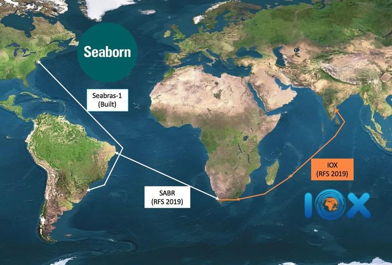 Firstever Fiber Optic Cable Between US And India Via Brazil And - Us fiber optic map